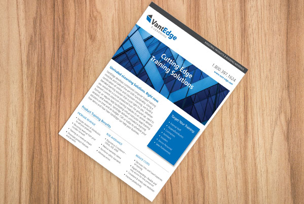 Print Collateral – VantEdge
